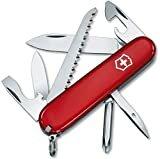 Victorinox Hiker - Cuchillo, Rojo, Acero inoxidable, 7 herramientas-13 funciones