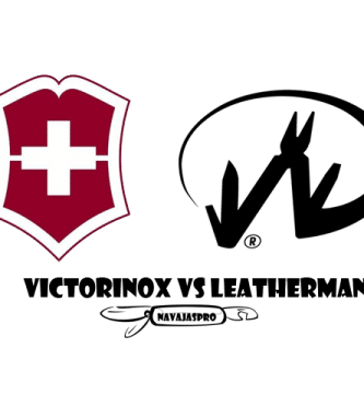 Victorinox Vs Leatherman logo
