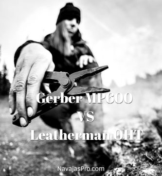 Gerber MP600 VS Leatherman OHT comparativa